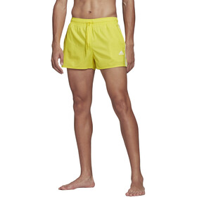 adidas 3S CLX VSL Shorts Hombre, amarillo